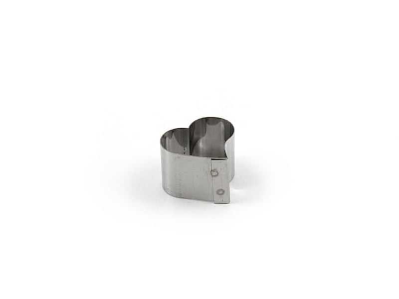 Cortador Inox Mini Coração - Caparroz