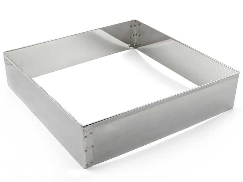 Aro Inox Quadrado 35X8cm Caparroz