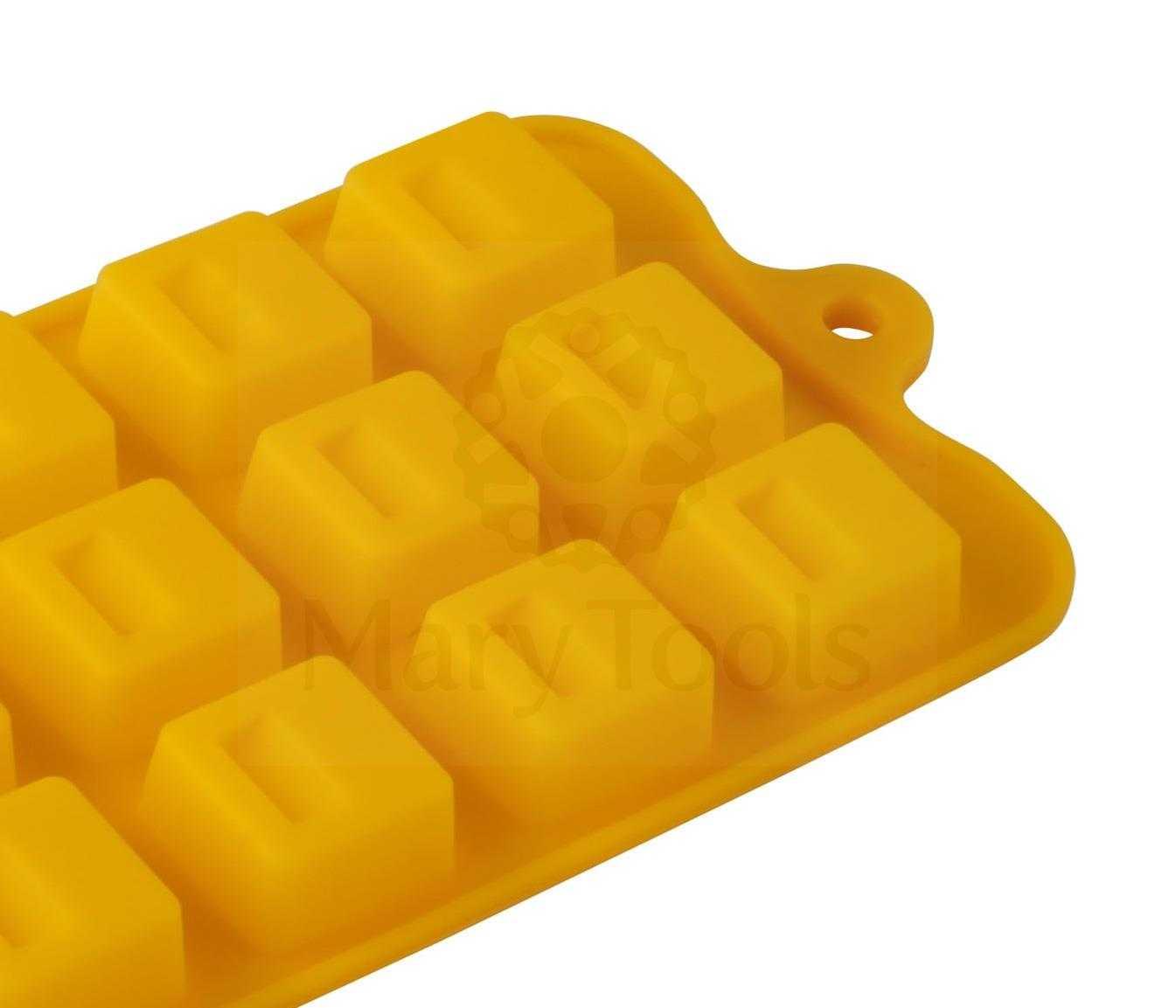 Forma de Silicone Quadrado - Mary Tools