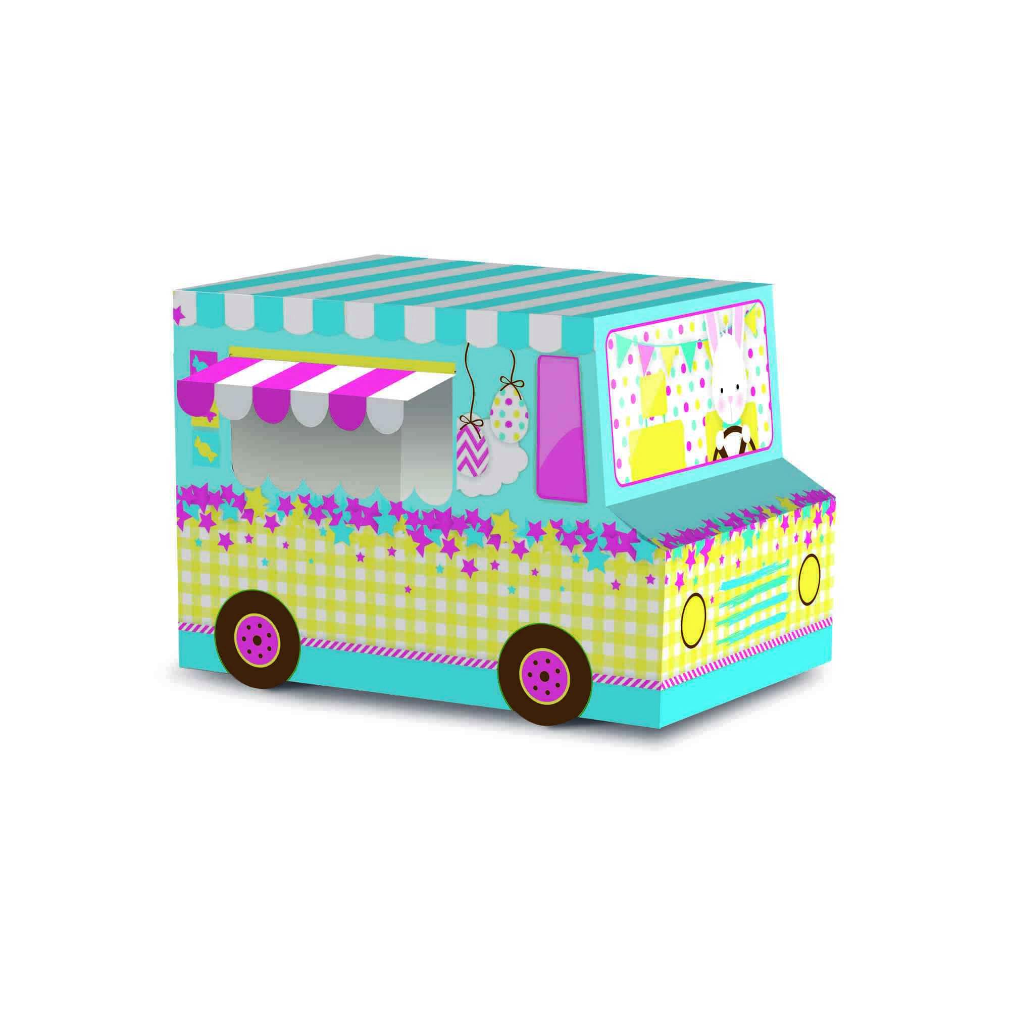 Caixa Para Ovo Food Truck Magia 13x9x9 Cromus