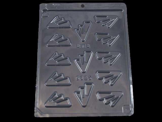 Forma de Acetato Arabesco Pé de Pato N9325 Bwb