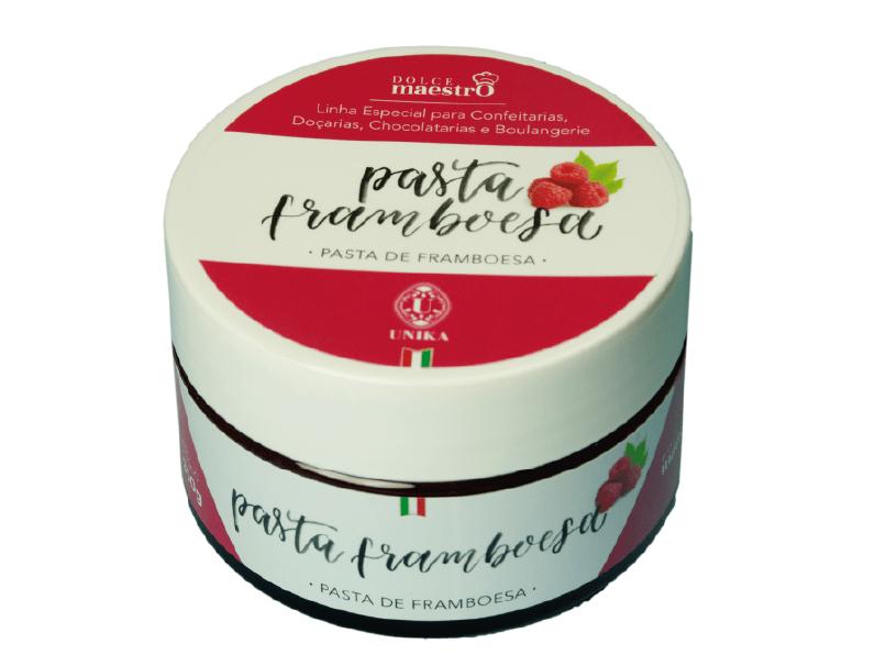 Pasta de Framboesa 300g – Dolce Maestro Unika