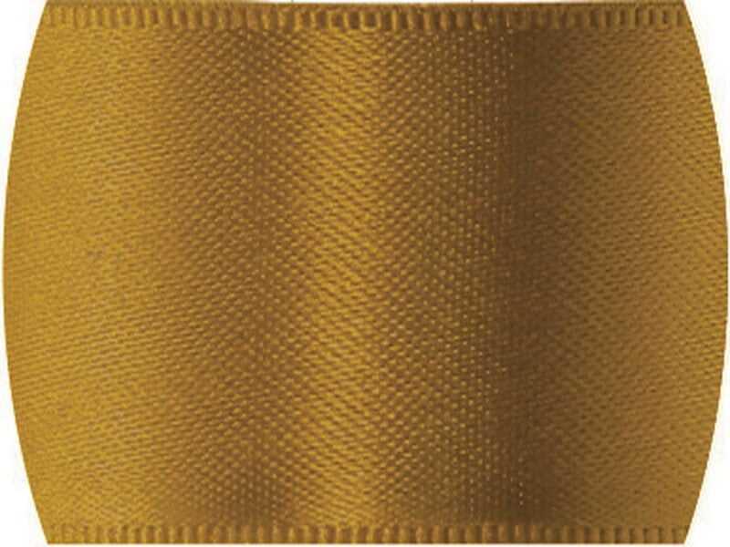 Fita de Cetim Lisa n°1 Ouro Escuro – CF1353 – Progresso