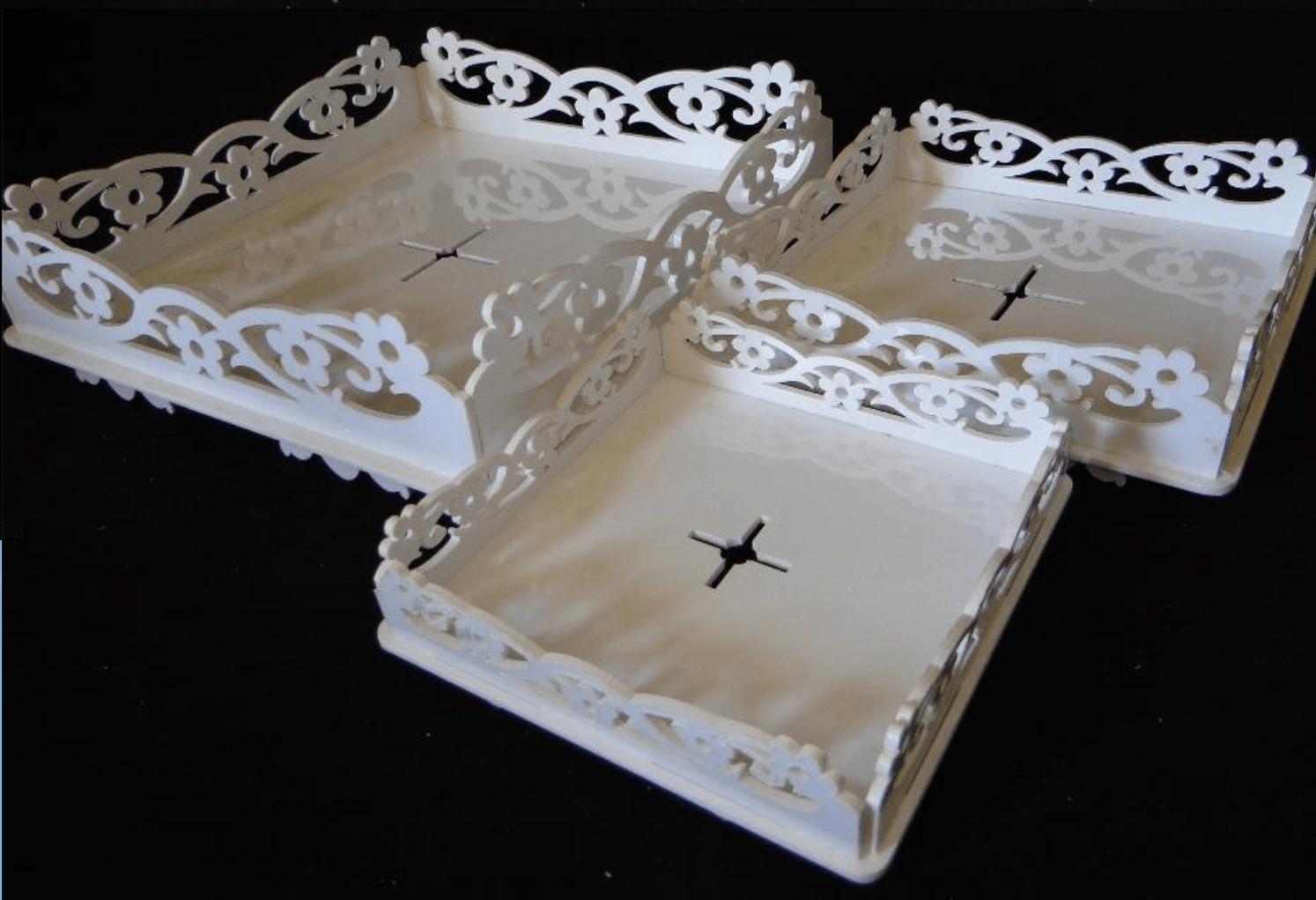 Baleiro Provençal Plástico Acrilfest