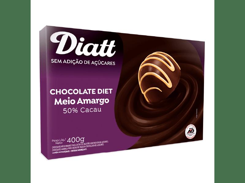 Chocolate Diatt Diet 50% Cacau 400g