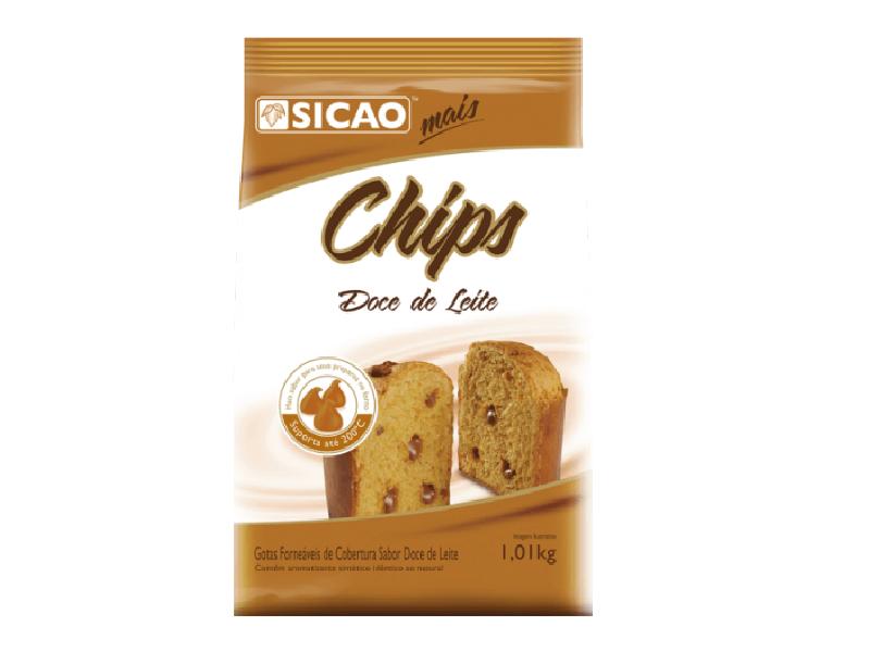 Cobertura Sicao Chips Doce de Leite 1,01kg