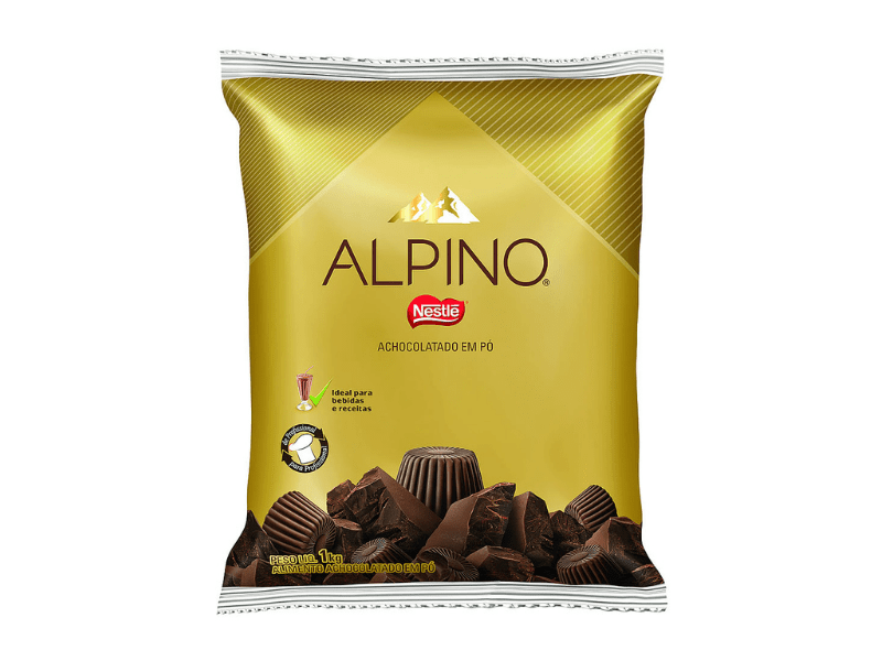 Achocolatado em Pó Alpino 1kg - Nestlé