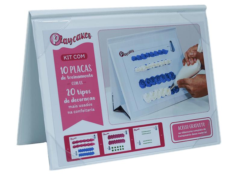 Kit para Treinamento de Bicos de Confeitar Playcakes