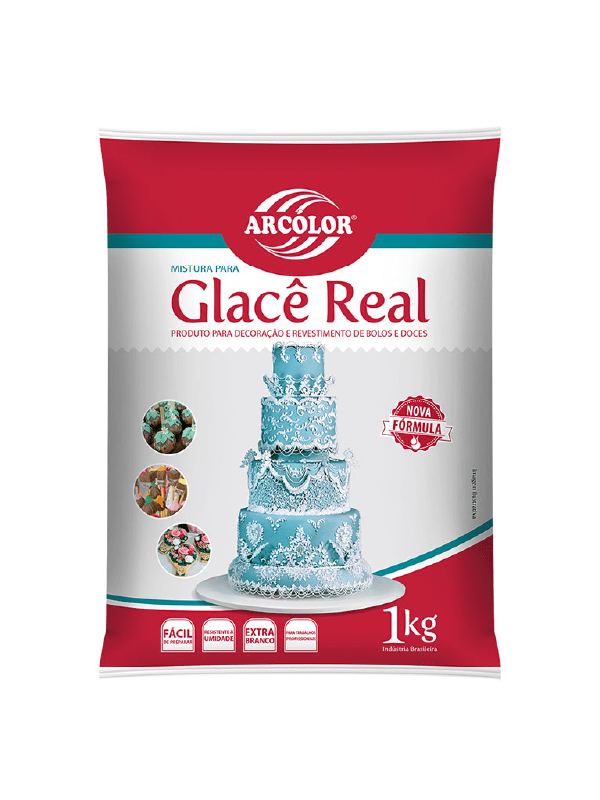 Glacê Real em Pó 1kg - Arcolor