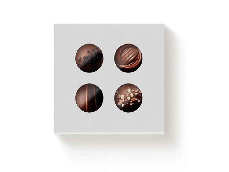 Caixa Color c/ Visor 9,5x9,5x4 cm Berço - Cromus