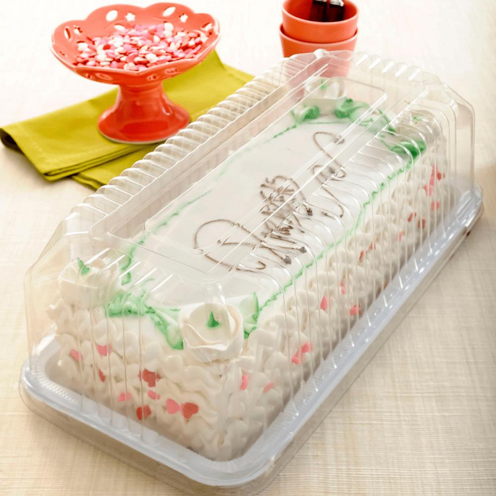 Embalagem de Plástico Torta Retangular G65M - Galvanotek