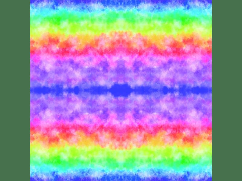Saco Poli Perolado 20x29 cm c/ 50 unidades - Tie Dye - Cromus