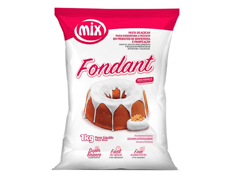 Fondant 1kg - Mix