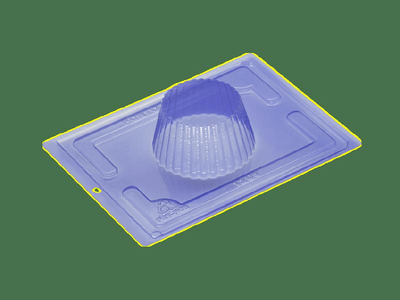 Forma Prática com Silicone Cupcake Gigante N1201 - Porto Formas