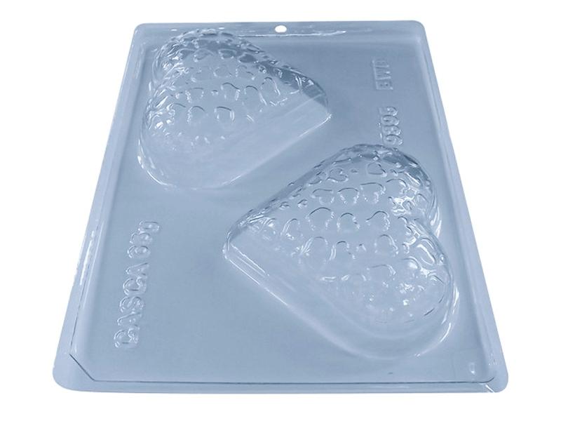 Forma Prática com Silicone Coração Texturizado N9395 - BWB