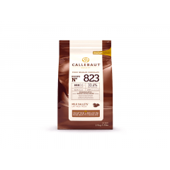 Callets Callebaut ao Leite 33,6% 2,5kg