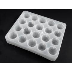 Forma Plástica Branca para Chocolate Feitiço A054 Cristal Formas