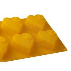 Forma de Silicone Cupcake Coração Grande Mary Tools