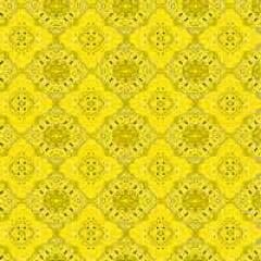 Papel Metalizado Bandana Amarelo 69x89 cm c/5 Cromus