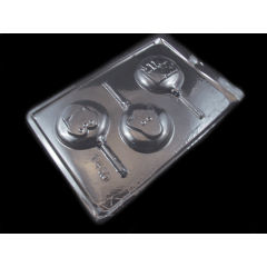 Forma de Acetato Pirulito Heróis N1460Tríade