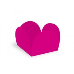 Forma para Doce Caixeta 3,5cm Pink c/ 50 unidades - Ultrafest