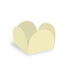 Forma para Doce Caixeta 3,5cm Vanilla c/ 50 unidades - Ultrafest