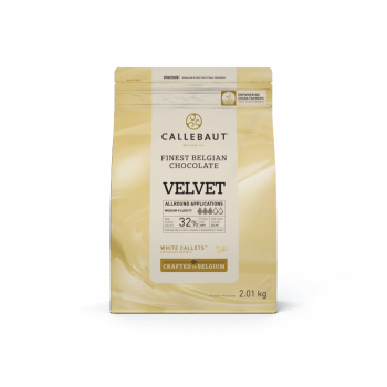 Callets Callebaut Chocolate Branco Velvet 2,01kg