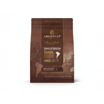 Chocolate Callebaut Arriba 39% Ao Leite 2,5kg
