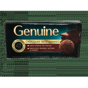 Chocolate Genuine Cargill Meio Amargo 1kg