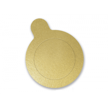 Base para Doces Ouro 10 cm c/ 20 unidades - Ultrafest