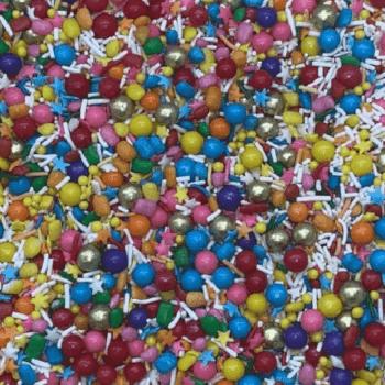Biscuit Comestível Sprinkles Mix Chiclé - Jady Confeitos