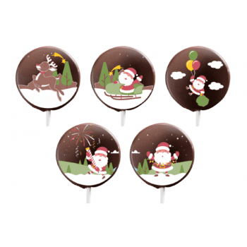 Blister para Chocolate Natal Papai Noel - Stalden