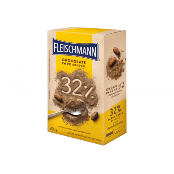 Chocolate em Pó 32% Cacau 200g - Fleischmann