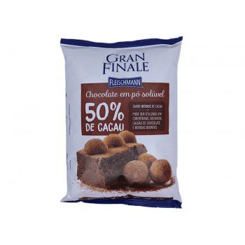 Chocolate em Pó Solúvel Gran Finale 50% Cacau 1kg - Fleischmann