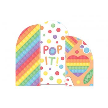 Painel Decorativo Festa Fidget Toys - Cromus