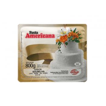 Pasta Americana Baunilha 800g - Arcolor