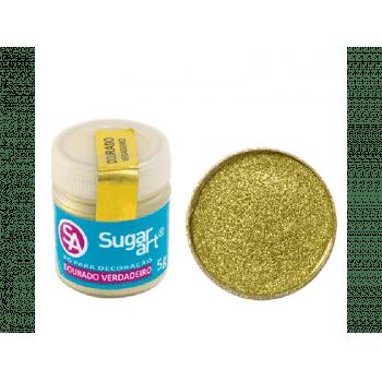 Pó para Decoração Dourado 5g - Sugar Art
