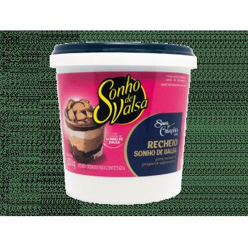Recheio de Chocolate Laka Sonho de Valsa 1,05kg - Lacta