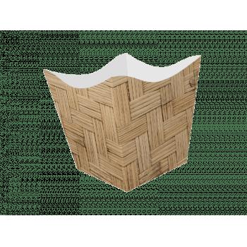 Cachepot Festejo 11x11x11 cm c/ 10 unidades - Ideia Embalagens