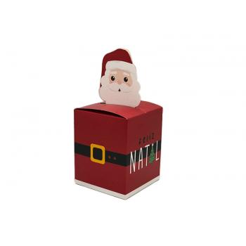 Caixa Pop Up Papai Noel Chegou 11x9x9 cm - Cromus