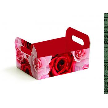 Caixote Papel Cartão Belle 22x15x8 cm - Cromus