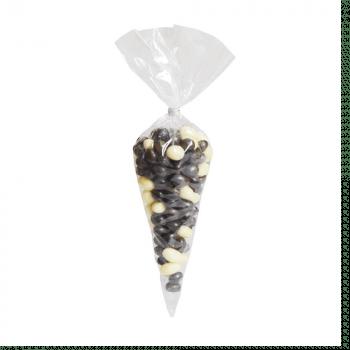 Cone Incolor 14x23 cm c/ 50 unidades - Cromus