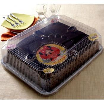 Embalagem de Plástico Torta Retangular Jumbo G78M - Galvanotek