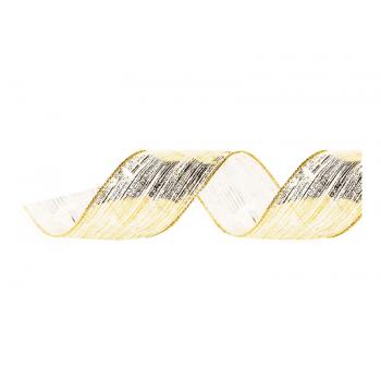 Fita de Voal Pincelada Ouro 9,14m - Cromus