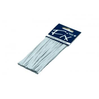Fecho Prático Prata c/ 100 unidades – Rogini