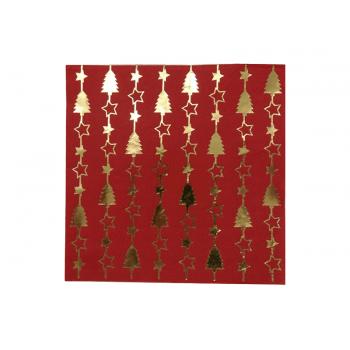 Guardanapo de Papel Natal Sortido c/ 20 Folhas Unidade - Yangzi