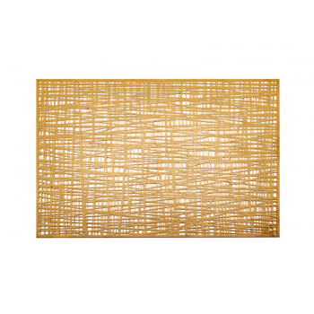 Jogo Americano Dourado 45,5x30 cm - Yangzi
