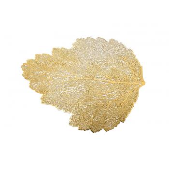 Jogo Americano Folha Dourado 46x36 cm - Yangzi