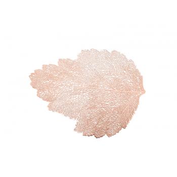 Jogo Americano Folha Rose Gold 46x36 cm - Yangzi