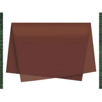 Papel de Seda Marrom c/ 3 unidades 49x69 cm - Cromus